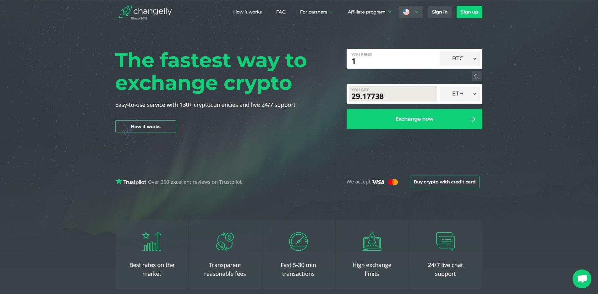 changelly best cryptocurrency exchange
