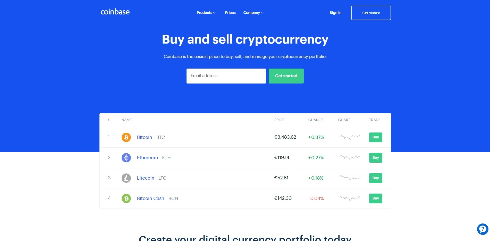 coinbase buy sell bitcoin online